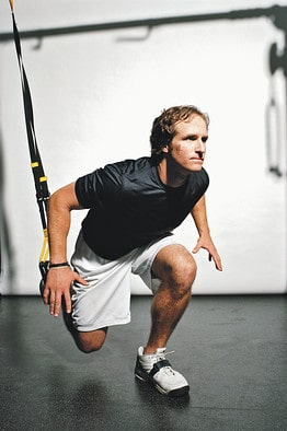 0909magazineTONE1 DV 20090825170419 Drew Brees Workout Routine   TRX Training For Champions
