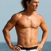 matthew mcconaughey workout1 200x200 Daniel Craig Workout Routine to Build a Badass Bond Body