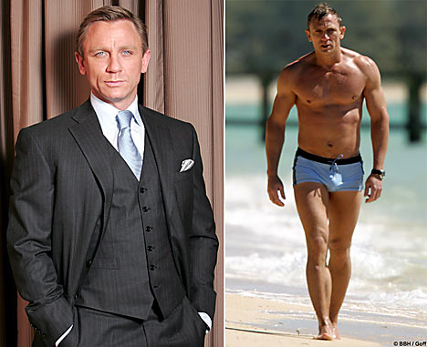 James Bond Workout Daniel Craig Workout Routine to Build a Badass Bond Body