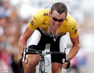 lance armstrong racing 300x233 Cardio On An Empty Stomach to Burn More Fat? The SHOCKING Truth...