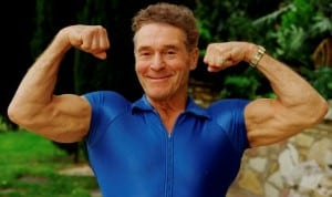 jack lalanne at 71 300x178 Jack LaLanne Workout Routine & Quotes