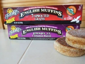 Ezekiel muffins 300x225 Lose Belly Fat With These 7 Breakfast Food Swaps