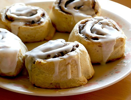 cinnamon rolls Cinnamon For Weight Loss