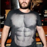 jack black six pack 200x200 Stomach Exercises For Women