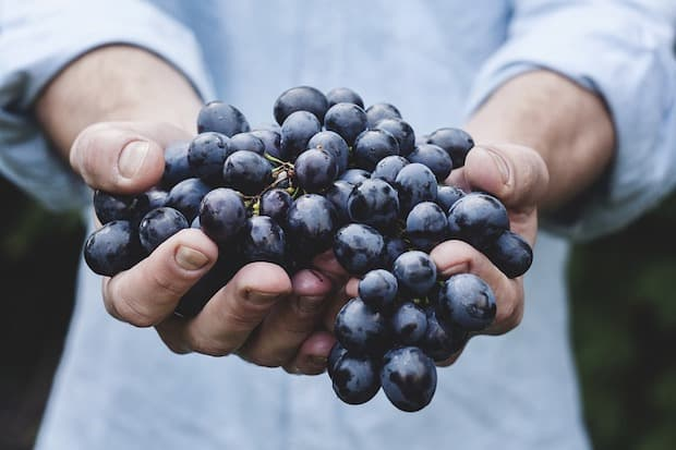 grapes superfood