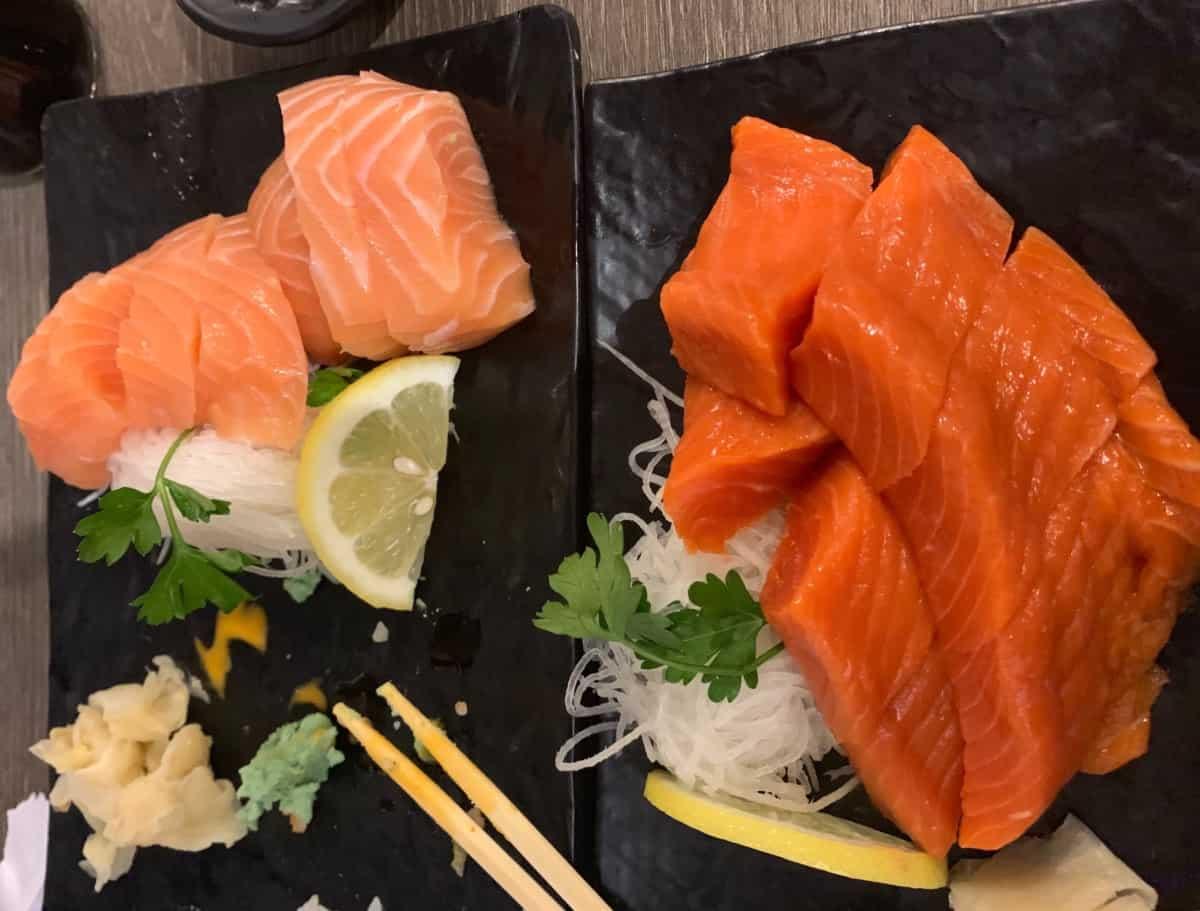 salmon farmed vs wild