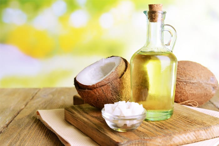 coconut oil belly fat burning food
