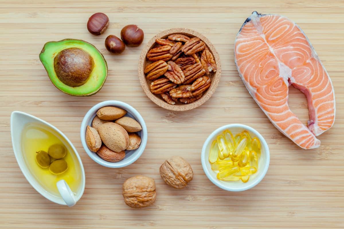 healthy fats food list weight loss