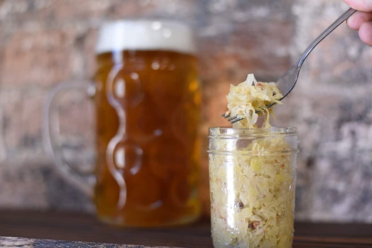 sauerkraut fermented foods