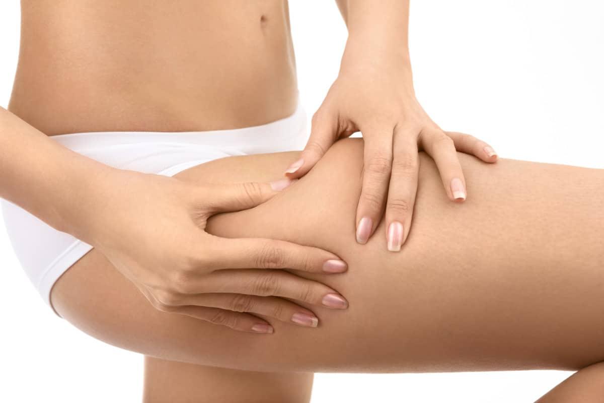 saddlebag fat on outer thighs