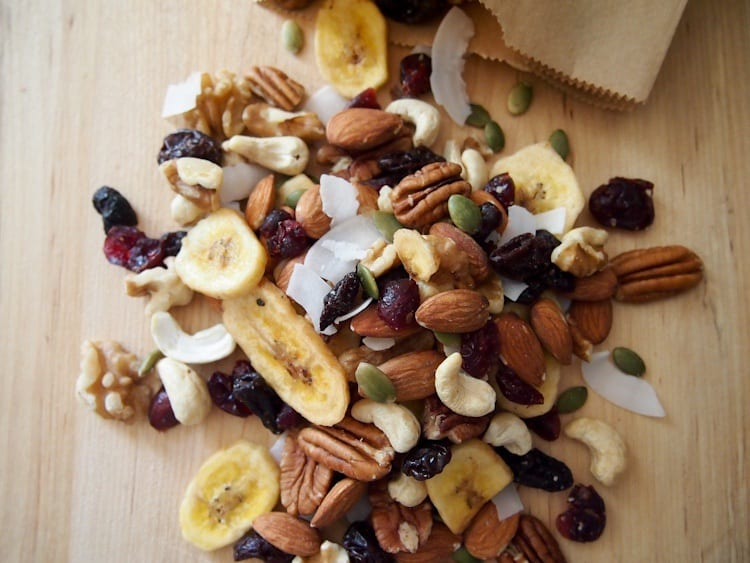coconut trail mix