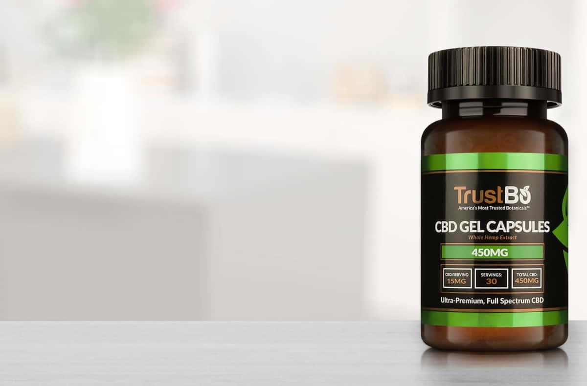 trustbo cbd gel capsules
