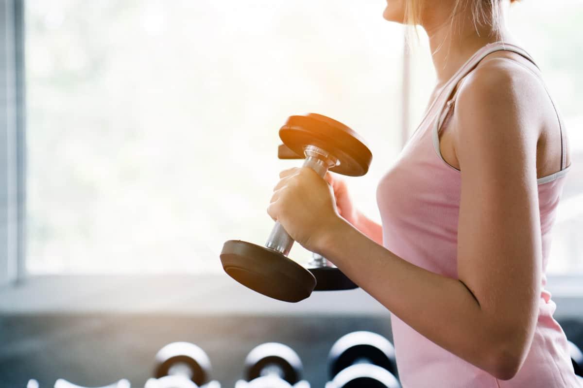 beginner arm workout female