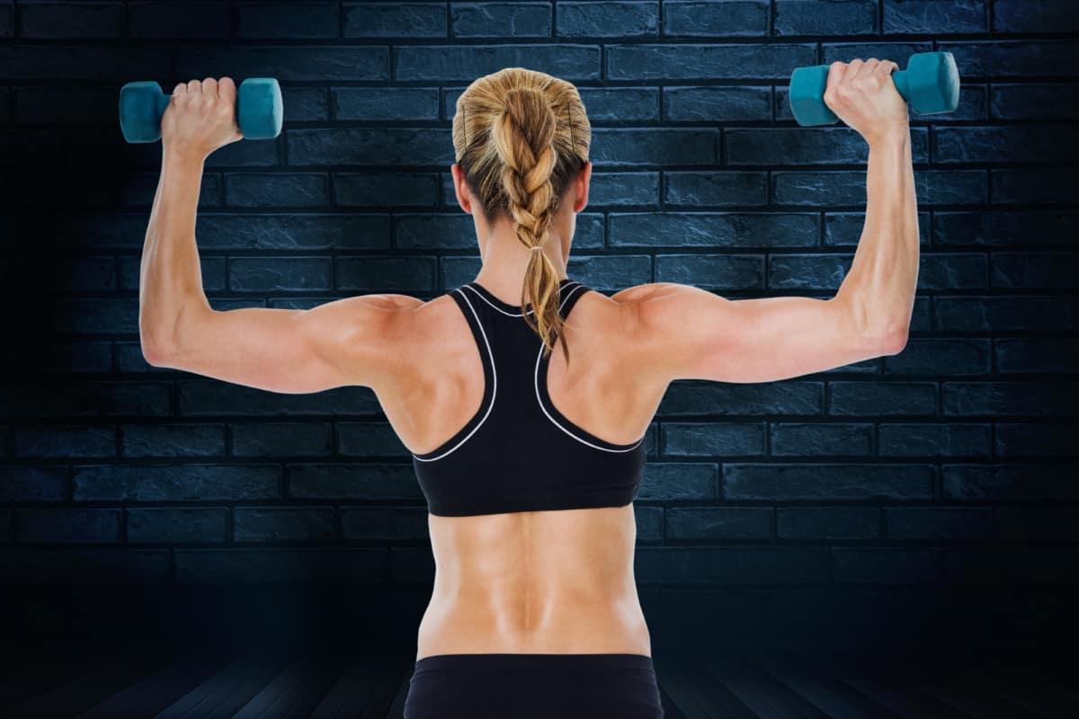 female arm toning exercises