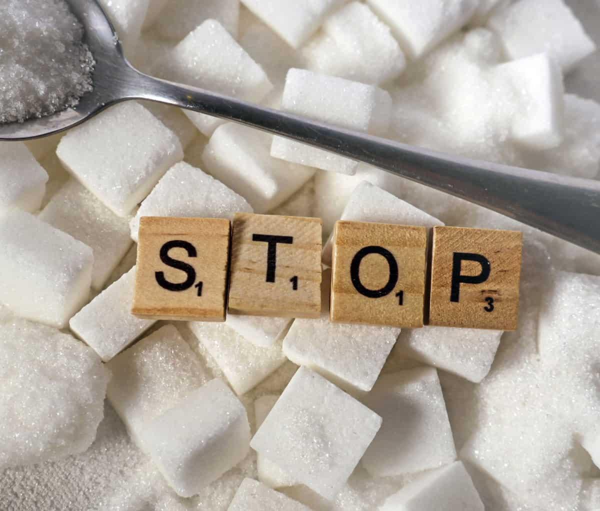 stop eating sugar