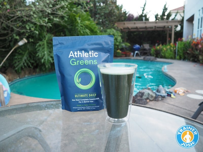 athletic greens taste
