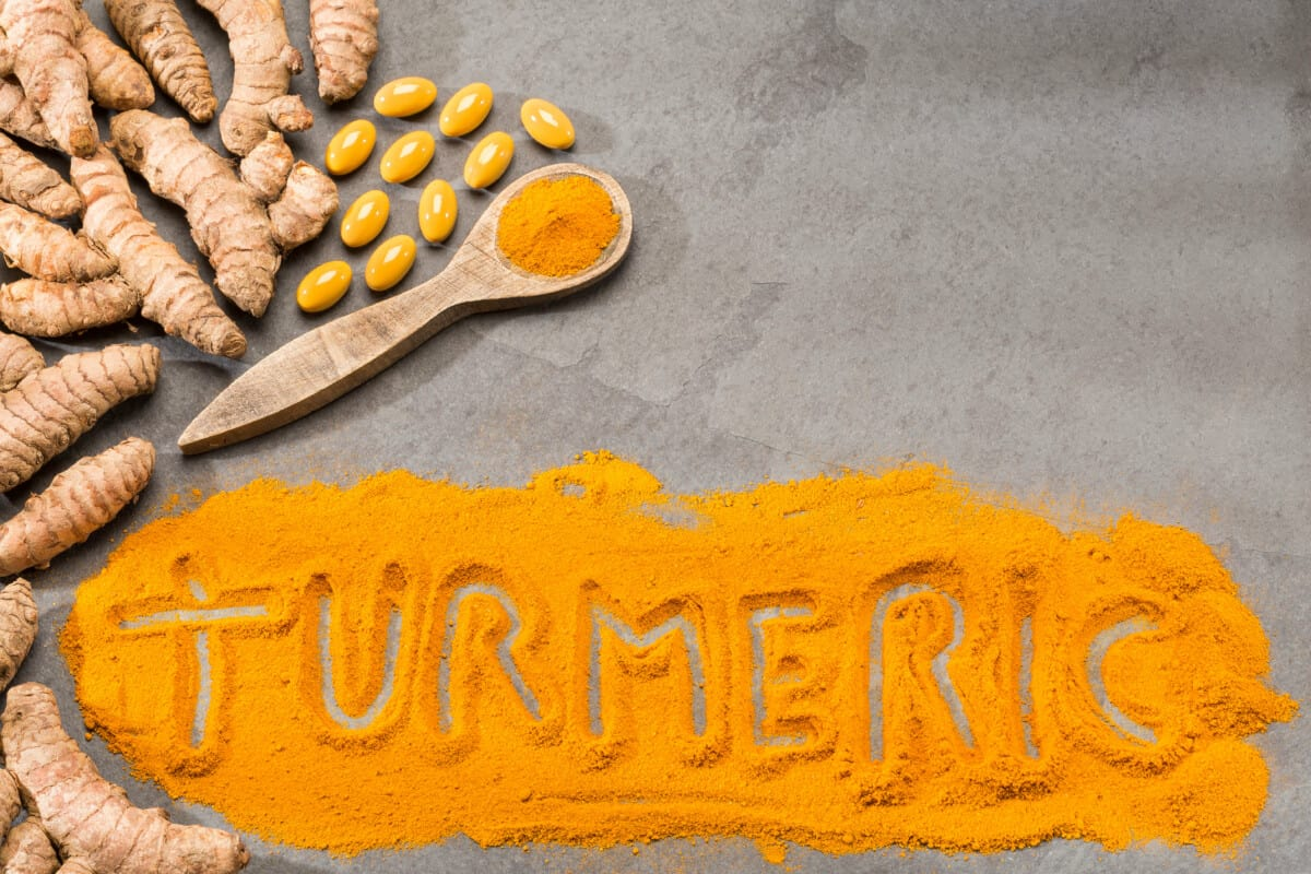 lose weight with turmeric