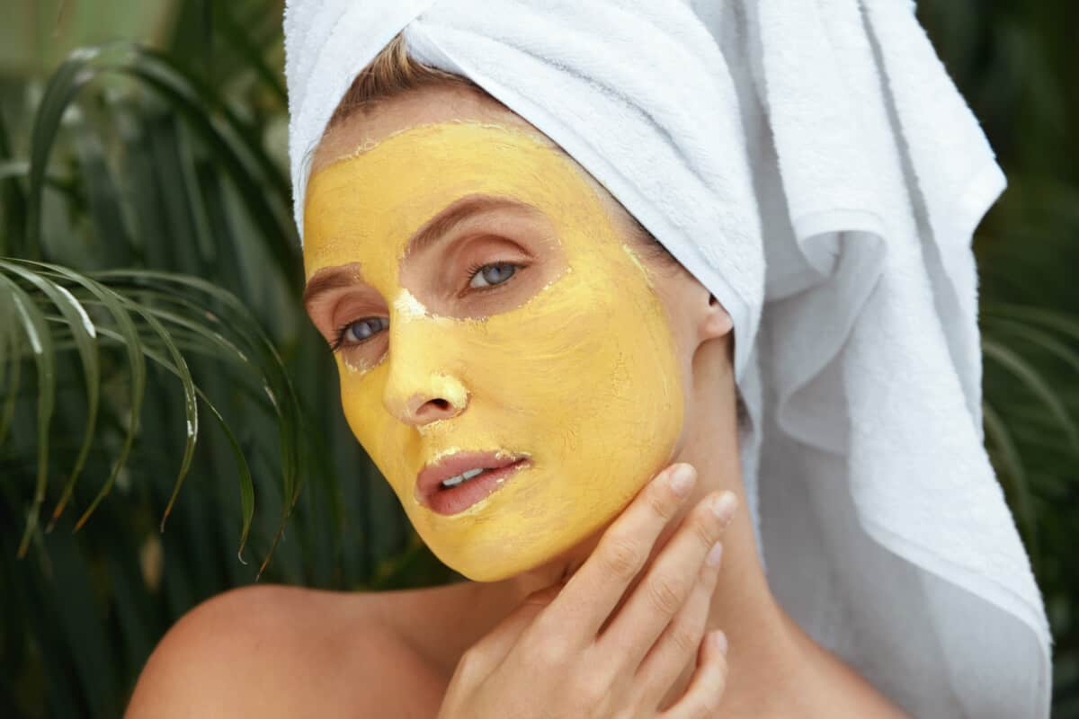 turmeric mask skin aging
