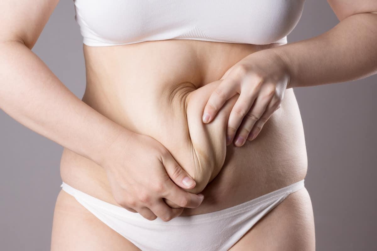tighten skin on stomach