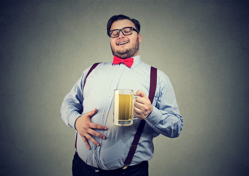 what causes a beer belly