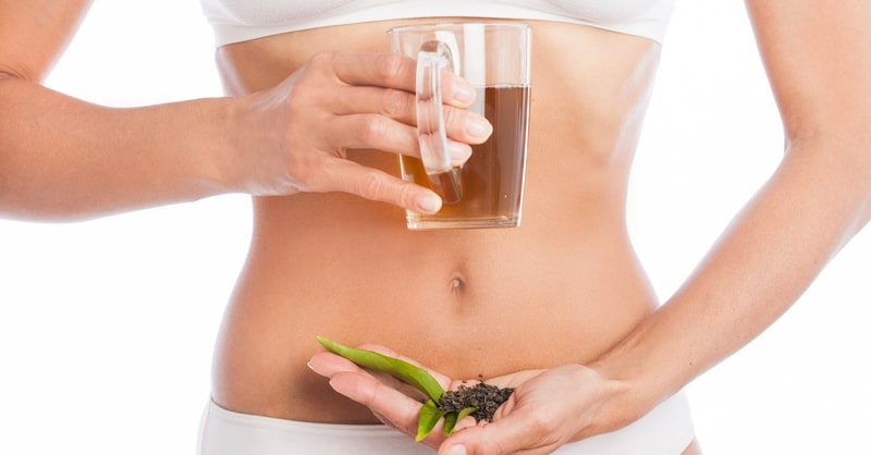 green tea side effects on empty stomach