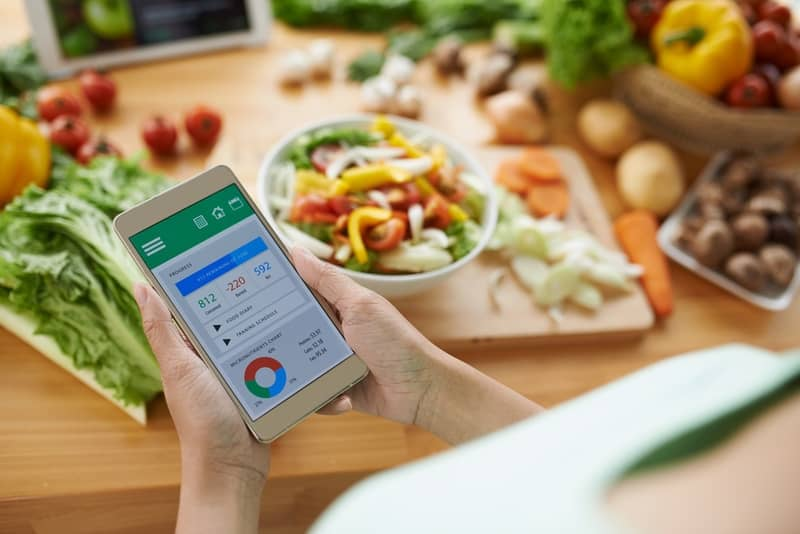 track your calories for weight loss