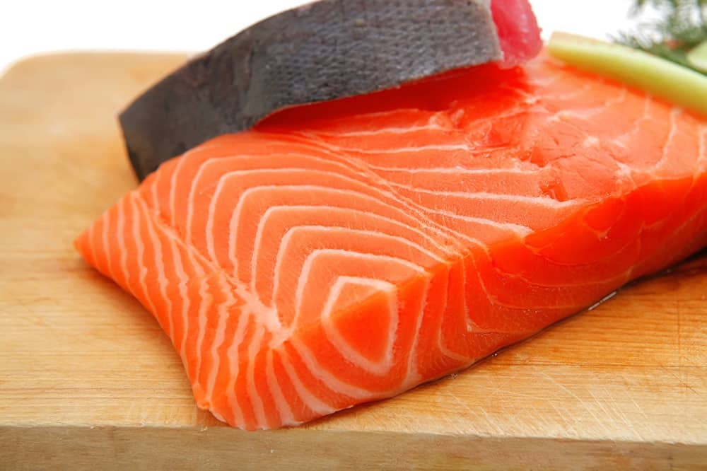 wild caught salmon