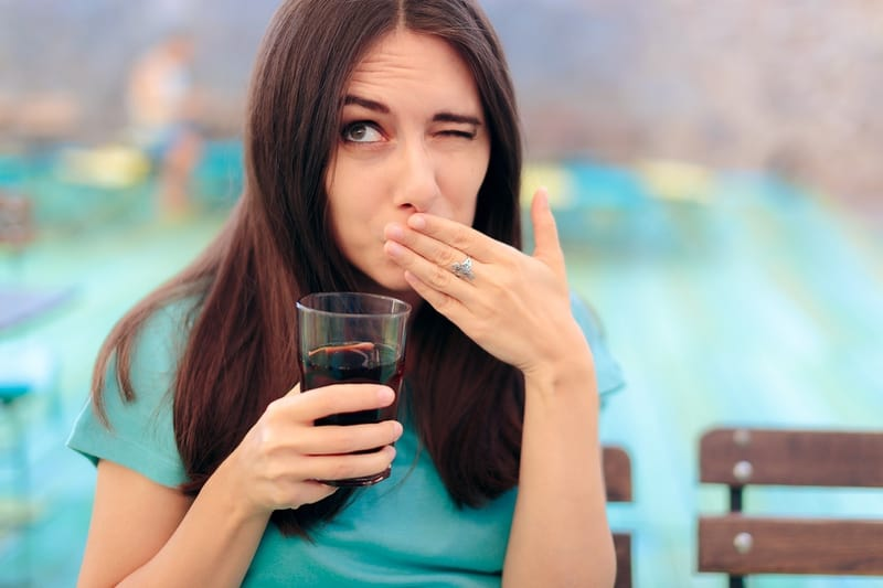 sparkling water too acidic tooth enamel digestion