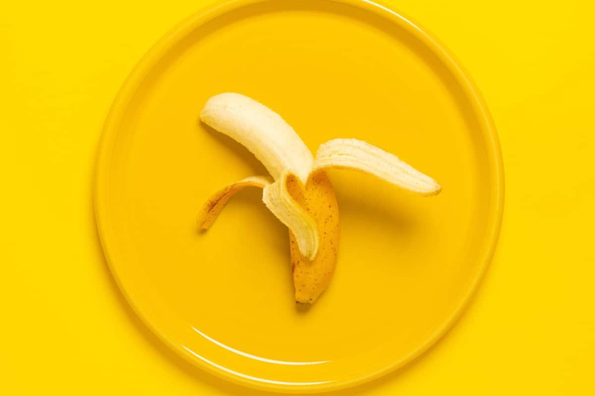 salt potassium banana