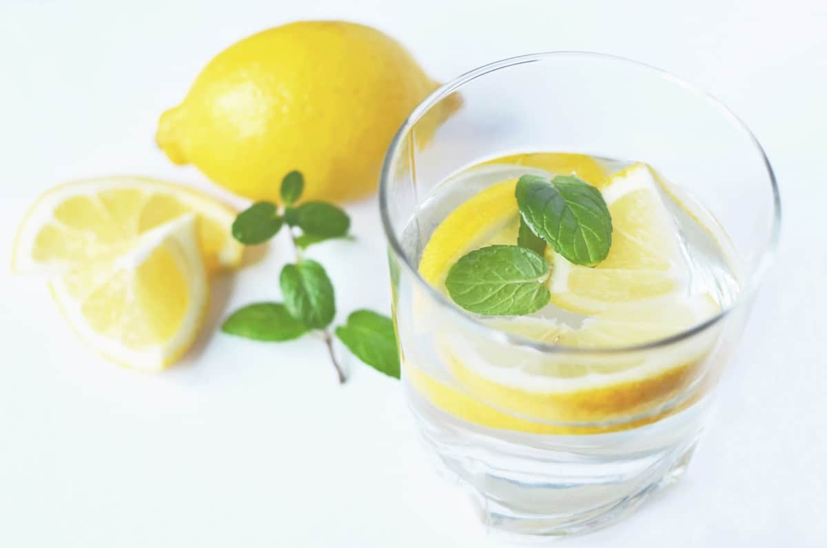 lemon water fasting