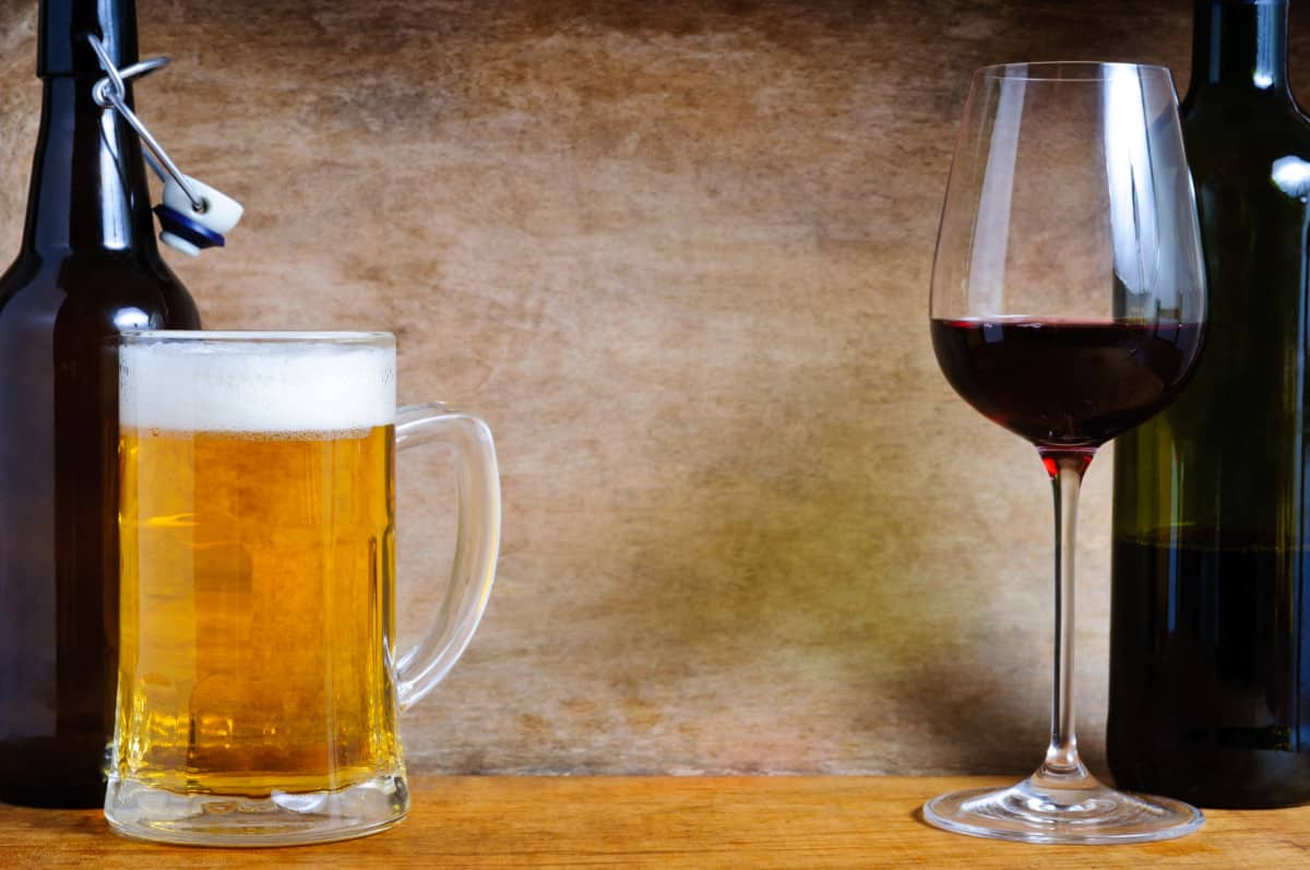 Beer vs Wine Differences
