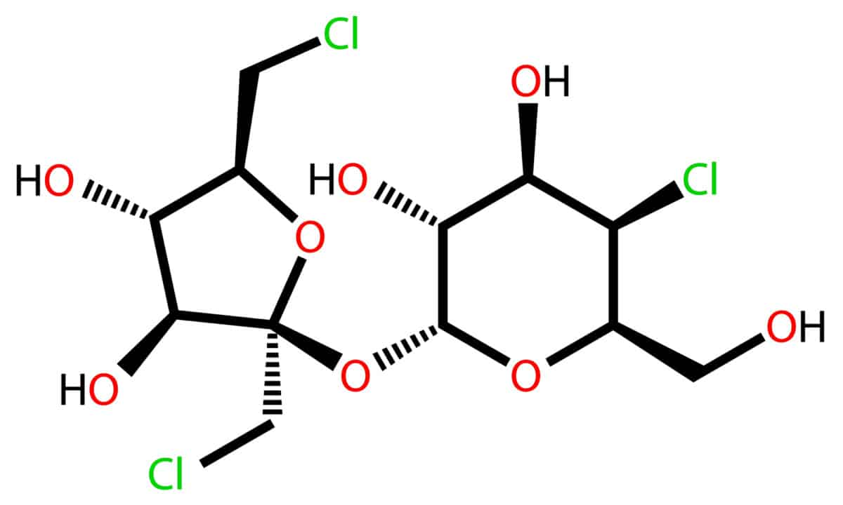 sucralose chemical structural formula