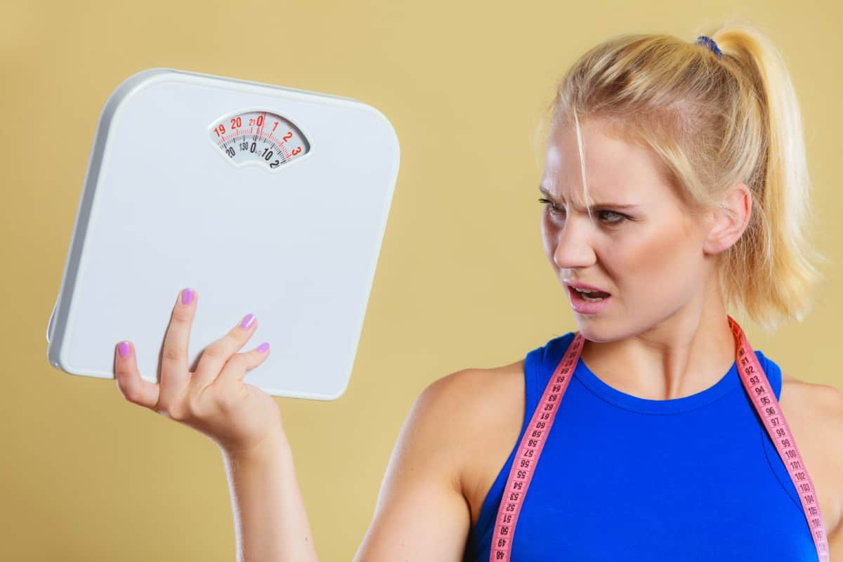 Slimmer and Thinner but Not Losing Weight