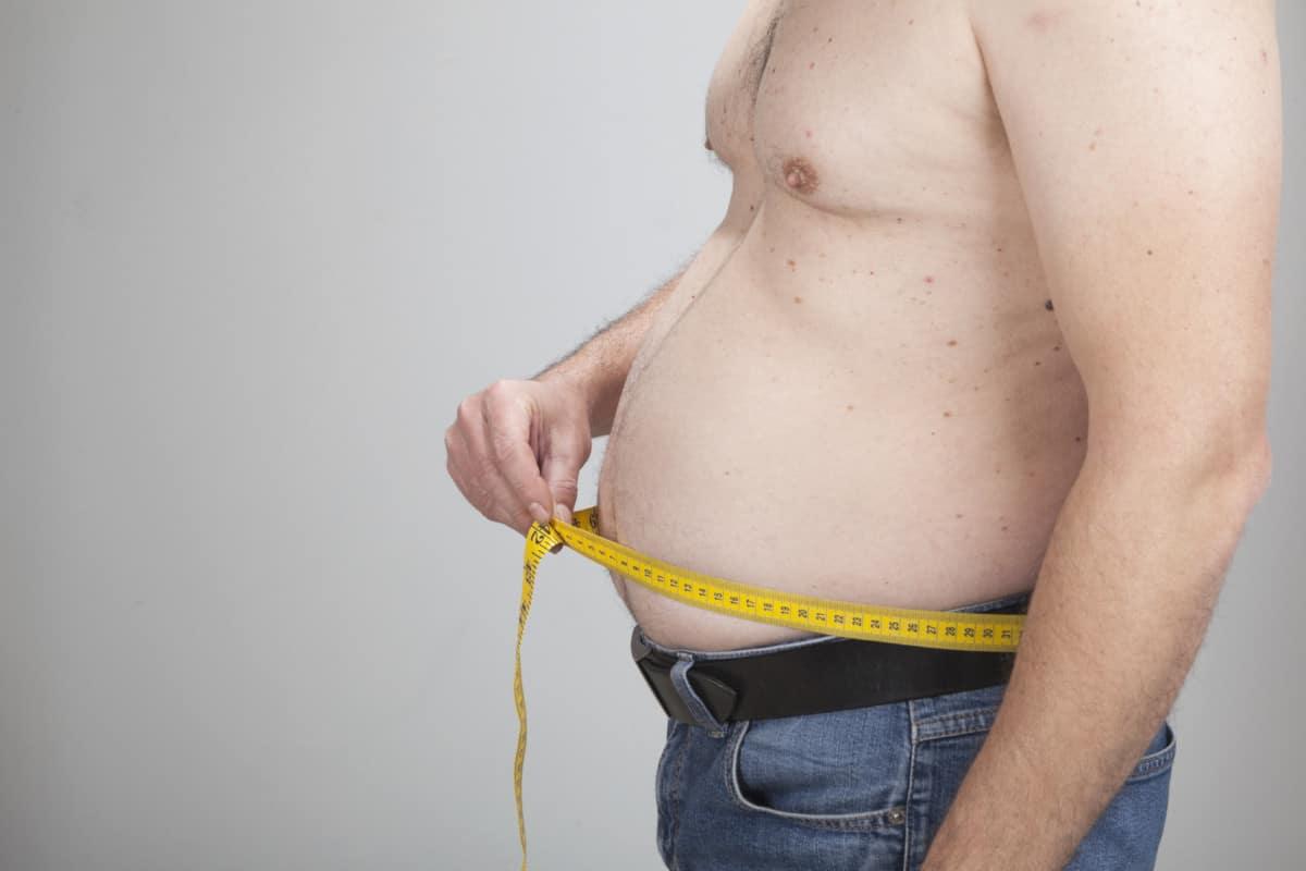 skinny fat man