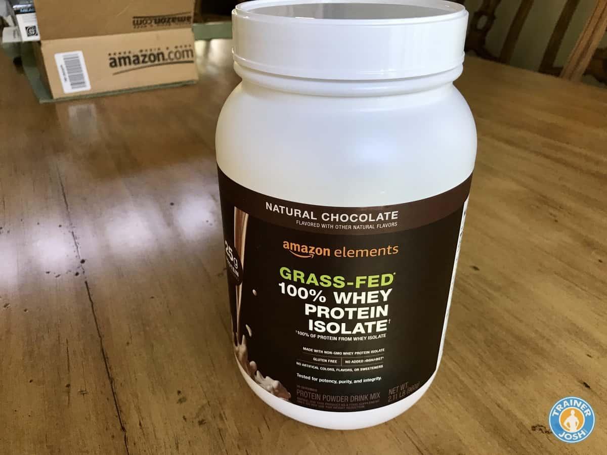 amazon grassfed protein
