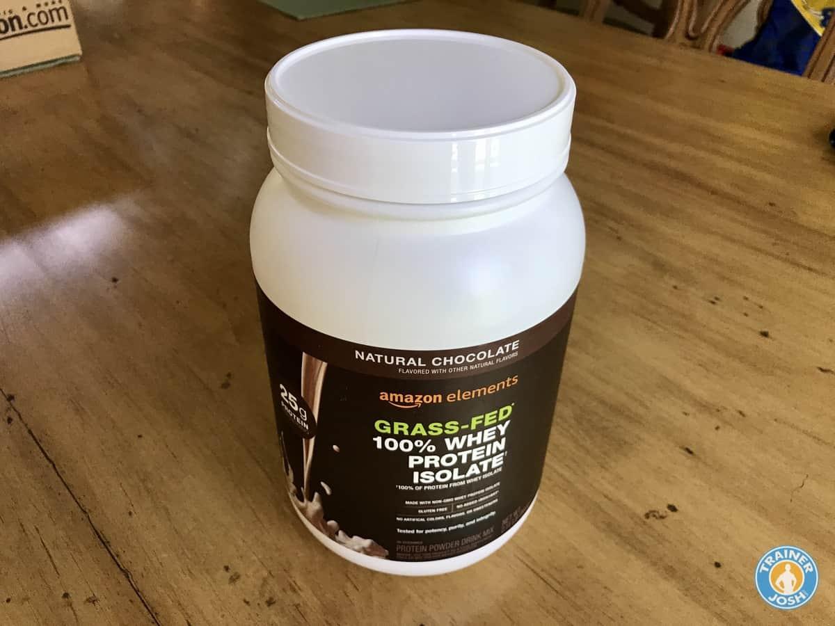 amazon whey protein isolate