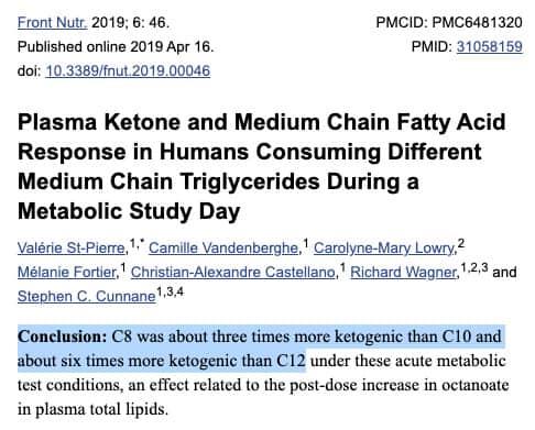 c8 mct keto study
