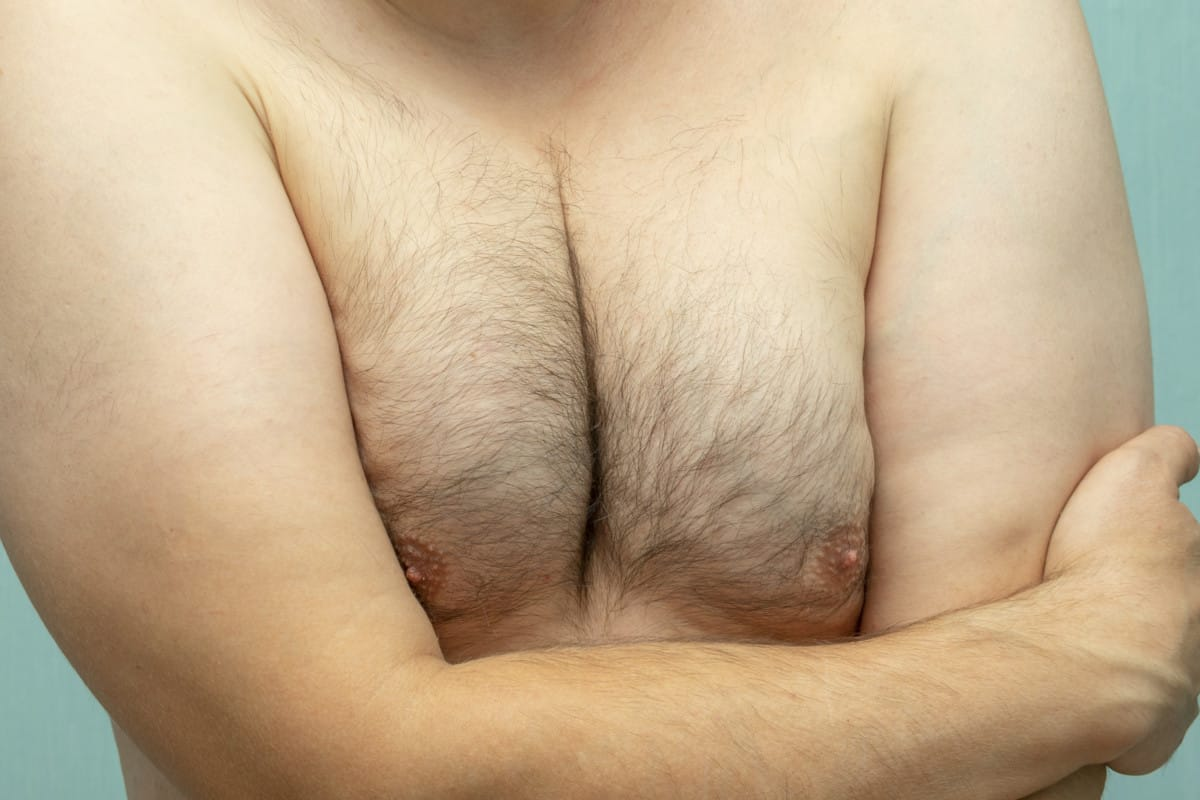 how lose chest fat