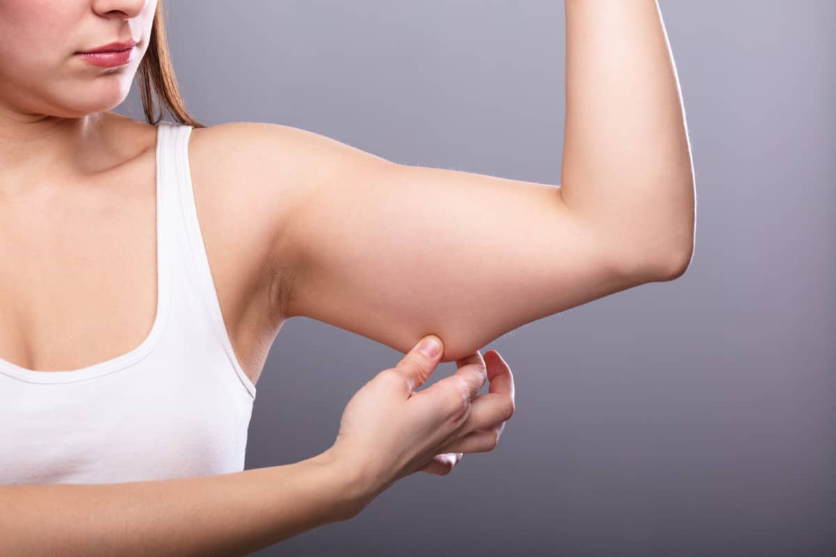 how to lose fat from arms