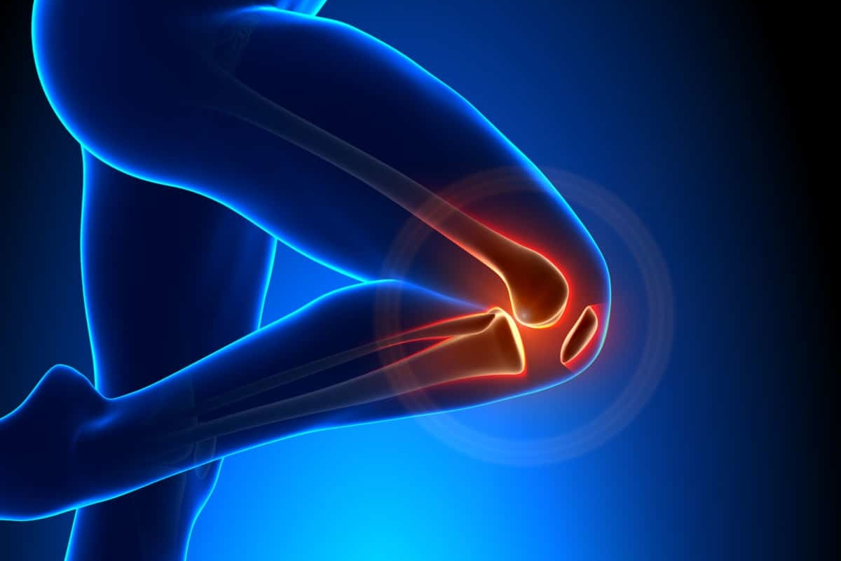 target knee fat