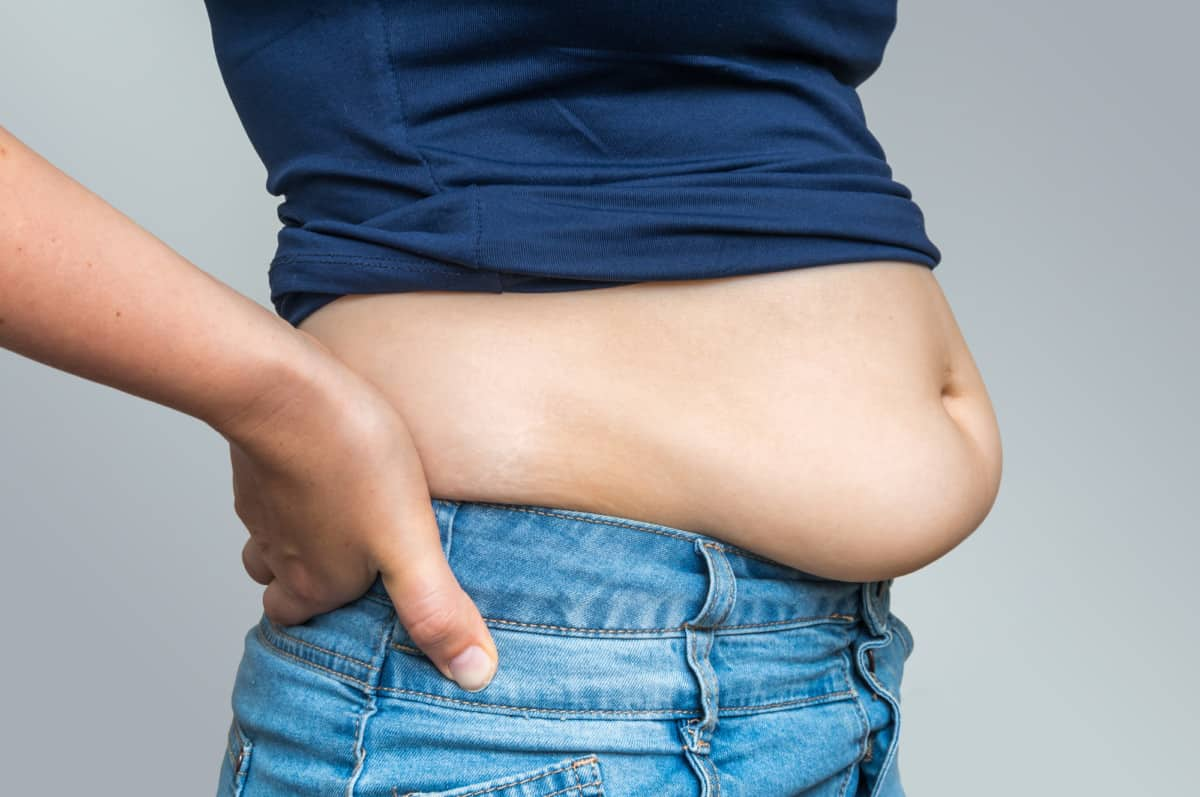 how to get rid of a hanging belly