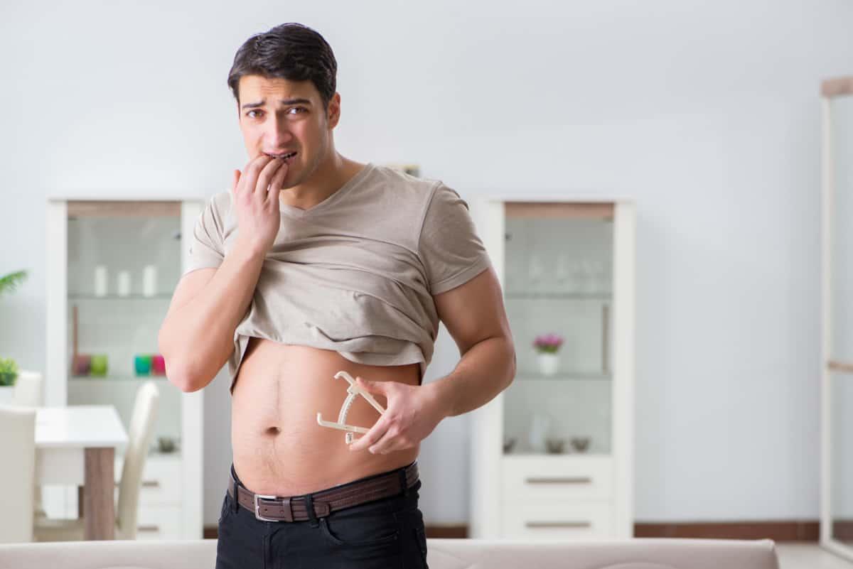 skinny fat body fat percentage
