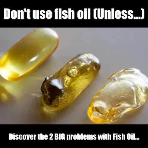 dont use fish oil