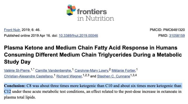 c8 mct study more ketogenic