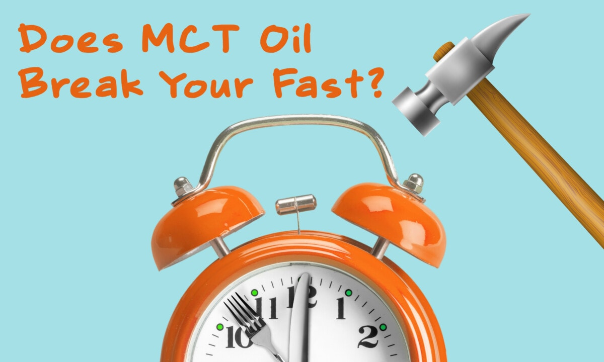 does mct oil break your fast