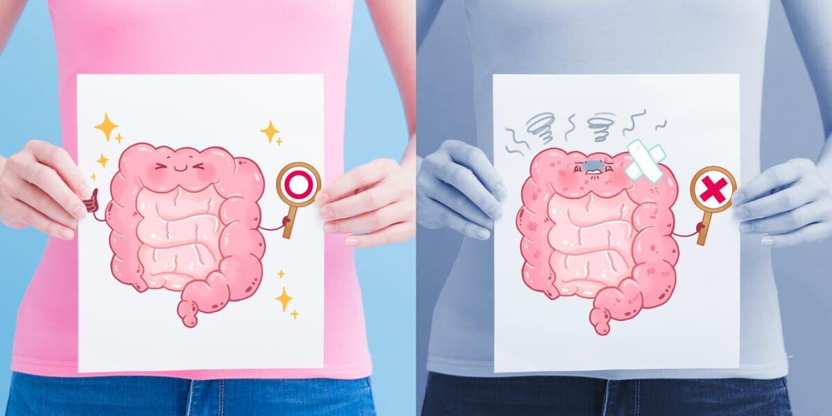 unhealthy gut symptoms